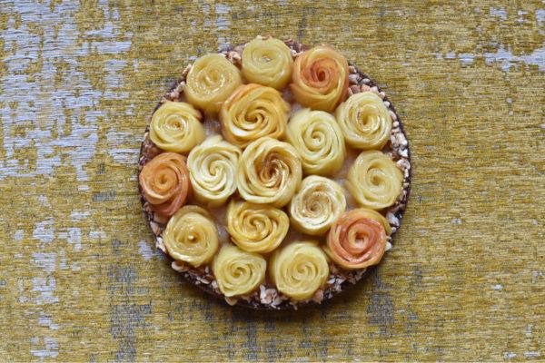 Tarte Rose Bretonne aux pommes