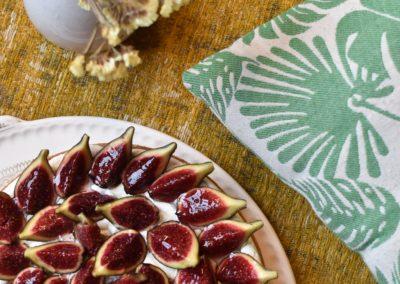 Tarte aux figues et miel