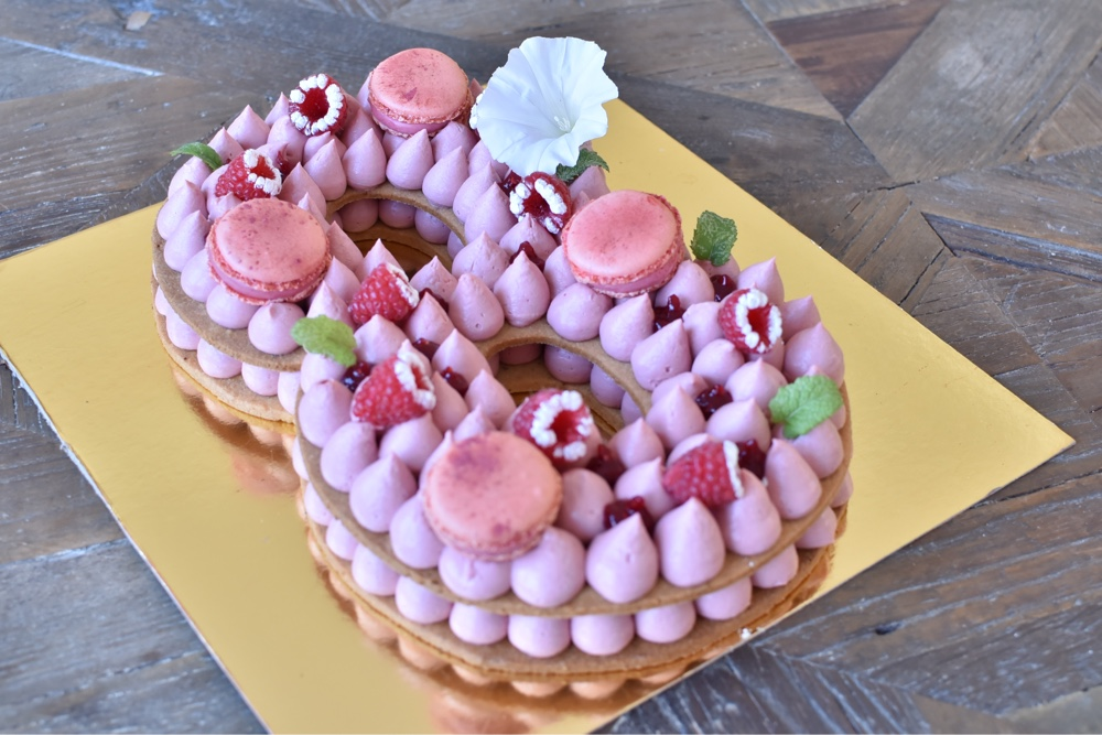 number cake 8