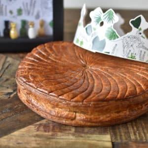 Galette des rois (pommes caramel beurre salé)